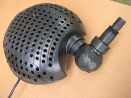 Teichpumpe 7500 L/h Teichfilter - Pumpe Filterpumpe Bachlauf- u Wasserfallpumpe - Vorschau