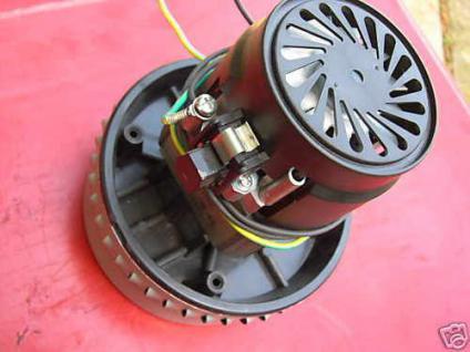 1x Saugmotor Motor Saugturbine Nilfisk Wap Alto Attix 751-21 Saugermotor Turbine