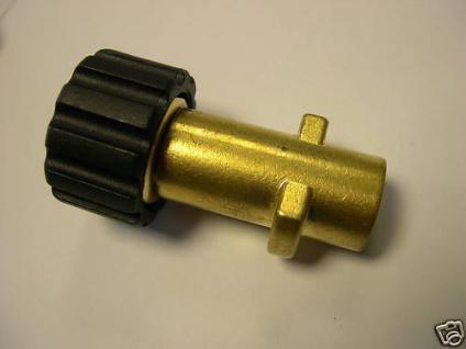 Kupplung M22x1,5 auf Bajonett Kärcher Hochdruckreiniger - Vorschau
