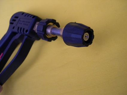Hochdruckreiniger - Pistole mit Kurz - Lanze für Kärcher Kränzle M22 AG Düse 045 - Vorschau 1