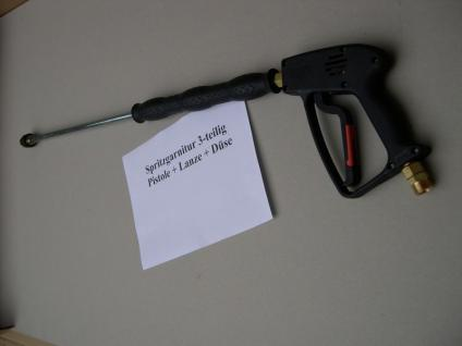 Hochdruckpistole Pistole + Strahlrohr Lanze 1200mm Kärcher Profi Kränzle