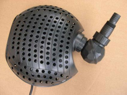 Strömungspumpe Teichpumpe 11000 ltr/h Teichfilterpumpe Filterpumpe Bachlaufpumpe