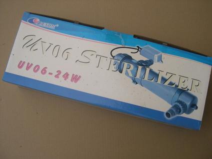 Resun UV-C Teichklärer 24 Watt Wasserklärer Sterilizer UV UVC Lampe Klärgerat
