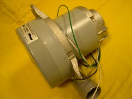3-Stufuger Saugmotor Turbine 1650 W Motor 230V für Holzpellets