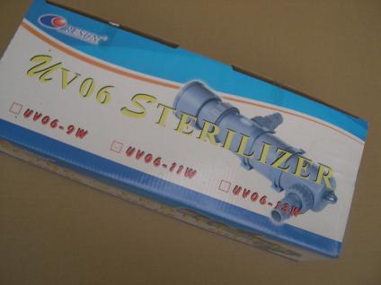 Resun UV-C Teichklärer 9 Watt Wasserklärer Sterilizer UV UVC Lampe Klärgerät
