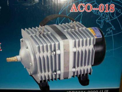 Koiteich - Belüfter 11700 L/h Kolbenkompressor Teich - Vorschau
