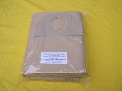 15 Stück Papierfilterbeutel Filtersäcke 6.959-130.0 für Kärcher NT Sauger