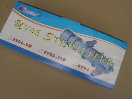 11W UV-C Teichklärer 11 Watt Wasserklärer Sterilizer UV UVC Lampe Klärgerät