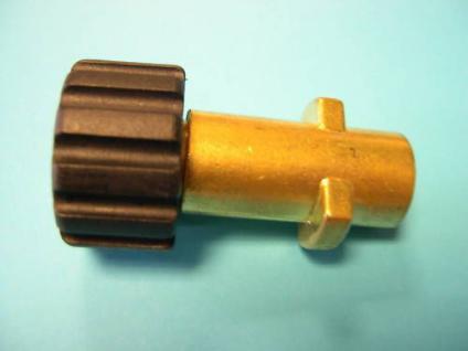 Adapter Bajonett auf M22 für Kärcher Hochdruckreiniger Dampfstrahler - Vorschau