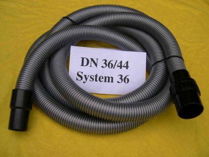 3m Saugschlauch Set 3tlg DN36 für Wap Alto Nilfisk Sauger Turbo XL 1001 Attix