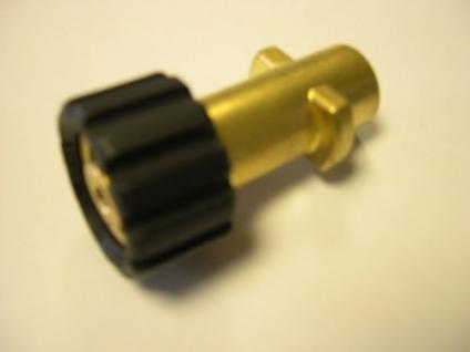 Bajonett - Adapter auf M22x1,5 für Kärcher Hochdruckreiniger Dampfstrahler - Vorschau