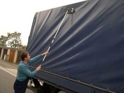 Teleskop - Auto - Waschbürste 1, 7m mit Wasseranschluß LKW PKW Wohnwagen Boot