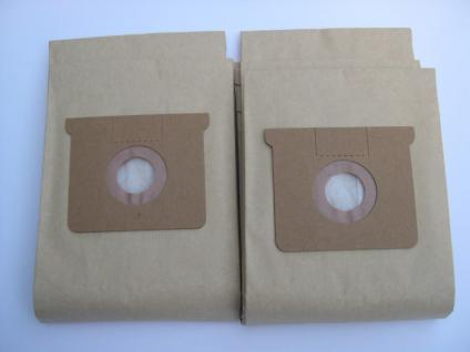 10x Filtersäcke Filtertüten Filterbeutel für Kärcher NT361 NTZ 361 eco TE Sauger - Vorschau
