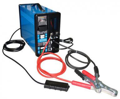 Batterieladegerät 12V u. 24V Batterielader Starterkabel
