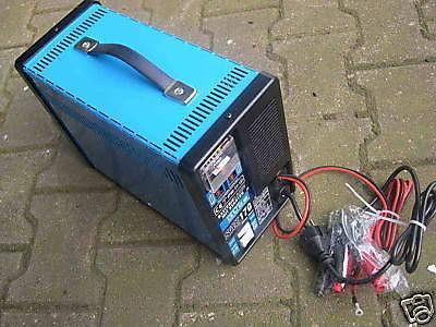 12V Batterielader f. Autobatterie Starthilfekabel - Vorschau