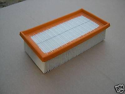 Flachfaltenfilter für Kärcher 2000 3501 3500 E NT 351 Eco Sauger Staubsauger