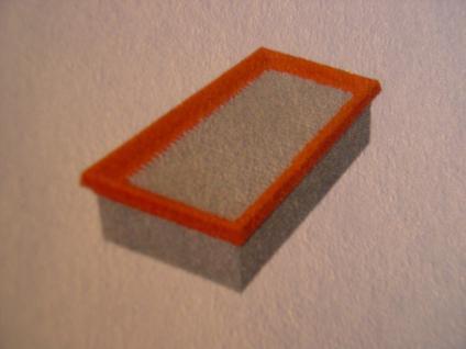 Luftfilter für Kärcher 6.904-283 Faltenfilter Filterpatrone Filterelement