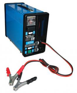 Profi Batterie - Ladegerät mit Starthilfe - Einrichtung Batterielader 200 Ah 12V