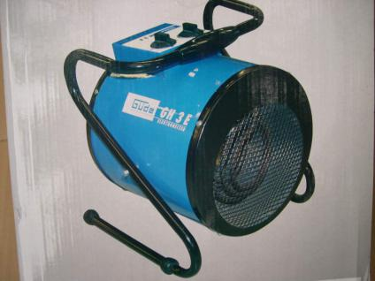 Elektro Heißluftgebläse 3 KW Heizer Heißlüfter Heizung - Vorschau