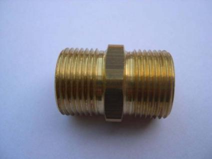 Nippel Schlauchverbinder M21/M21 Wap Hochdruckreiniger