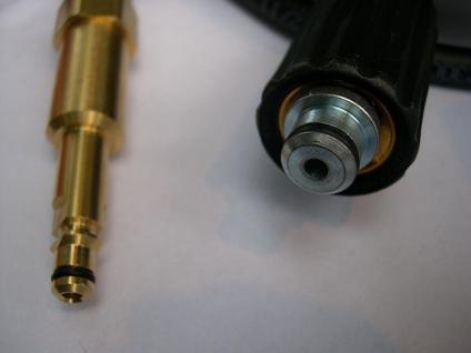 10m HD - Schlauch 8,8mm Quick Connect für Kärcher K Hochdruckreiniger ab 2008 - Vorschau 2