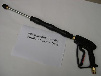 Hochdruckreiniger Set Pistole + Strahlrohr 500mm + Düse für Kärcher HDS Kränzle - Vorschau 1