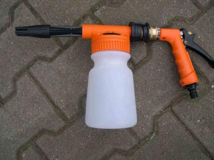Flaschen-Schaumgerät mit Wasseranschluss für Autoshampoo und Reinigungsmittel