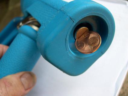 Metzgereiwaschpistole Heißwasser - Brause bis 80°C für Lebensmittelbetriebe - Vorschau 2