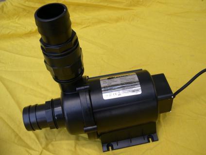 Profi Filterspeisepumpe 28000 L/H Profi Filterpumpe Bachlaufpumpe Filter Pump - Vorschau