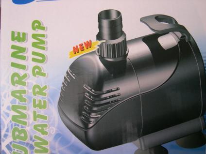 Qualiätsware Filterspeisepumpe 7000 L/h Filterpumpe Teichfilterpumpe Teichpumpe - Vorschau