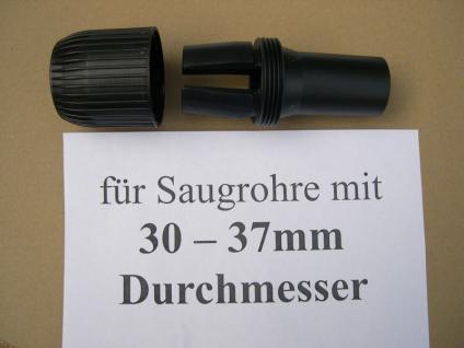 Saugdüsen - Adapter DN35 Wap Alto Nilfisk Sauger System 36 Staubsauger