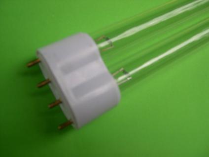 24 Watt UVC Ersatzlampe PL Sockel 2G11 Ersatzleuchte Teichklärer Wasserklärer - Vorschau