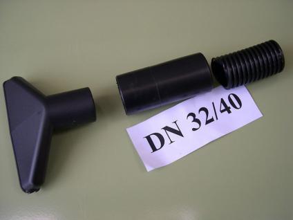 Saugschlauch - Muffe Gummi DN32/40 Lidl Parkside NT Sauger für Saugschlauch 40mm