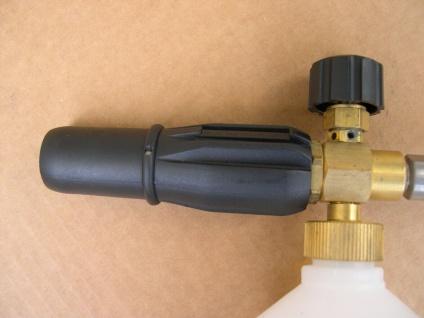 Profi - Schaumlanze Schaumkanone M22 Schauminjektor Kärcher Hochdruckreiniger