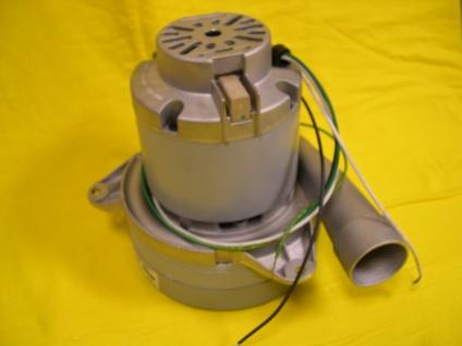 Motor 1650 W für Holzpellets - Sauger Turbine Saugmotor Ametek