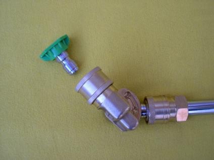 0-45° Fassaden - Düsenträger M22 + Schnellwechseldüse Kränzle Hochdruckreiniger - Vorschau 5