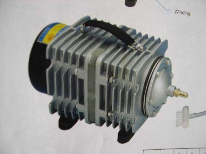 Profi Teichbelüfter ACO-001 2280 l/h Durchlüfter Sauerstoffpumpe Belüfter