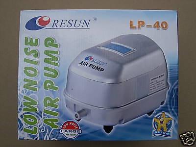 Resun LP40 Membranbelüfter Teichbelüfter 3000 L Teich Belüfter Sauerstoffpump3