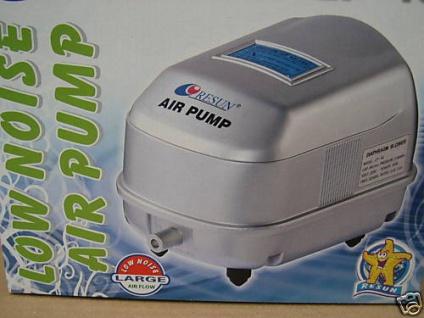 Resun Membranpumpe Teichbelüfter Belüfter 3000 l/h Sauerstoffpumpe Durchlüfter