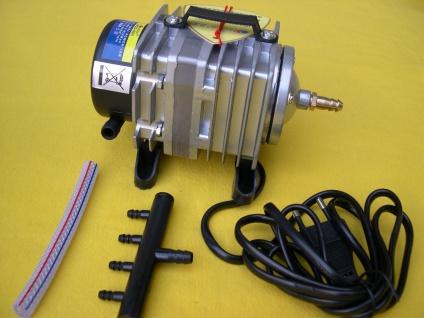 Resun 001 Teichdurchlüfter 2280 l/h Sauerstoffpumpe Belüfter Eisfreihalter