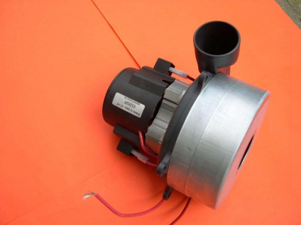 24V Saugturbine 450W m. Abluftrohr Saugmotor für Kärcher BR530 BR550 Batterie