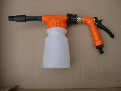 Profi Schaumpistole 1 Liter Schaumkanone für Reinigungsmittel Schaumgerät
