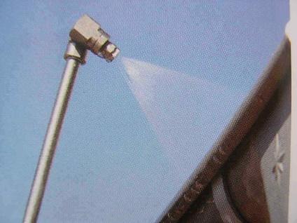 """Aufsatz für Lanze MEG 1/8"""" 240° drehbar für Wap Alto Nilfisk Hochdruckreiniger"""