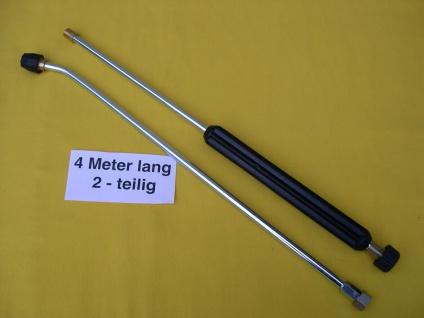 3m Langlanze Lanze Strahlrohr 2-tlg M22 + Düse Kärcher HD HDS Hochdruckreiniger