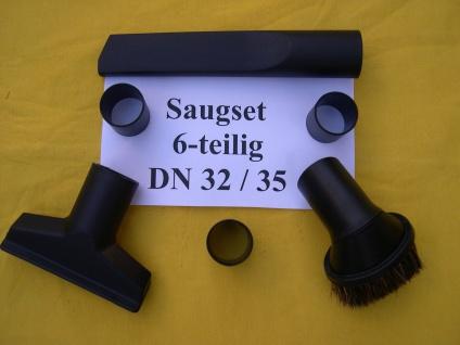 Saugset 6-tg DN35/32 für Aquavac Hobby 11 22 24 33 36 44 Synchro 22 30 40 Sauger