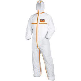 Schutzanzug Gr.XL sil-Wear weiß / orange
