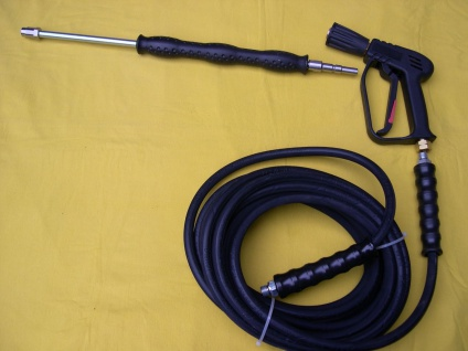 10m Schlauch + Pistole + Strahlrohr + Düse für Nilfisk Alto Poseidon Neptune