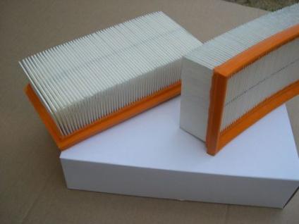 2 Stück Faltenfilter Filter Filterelement Kärcher Art.Nr.6.904-068