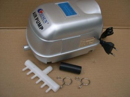 Resun Profi - Sauerstoffpumpe Membranbelüfter Teichbelüfter 3000 L/H für Teich