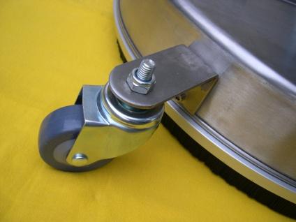 Profi Flächenreiniger Bodenreiniger 410mm Edelstahl f Wap Alto Hochdruckreiniger